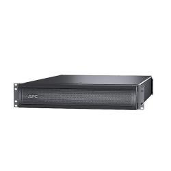 Batterie APC Smart-UPS X 120V External Battery Pack Rack/Tower - Boîtier de piles - 2 x Acide de plomb - 2U - noir - pour P/N: SMX3000RMHV2UNC