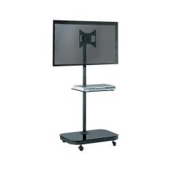 """Support pour LCD SOPAR TV STAND 37P-SHELF - Pied pour écran plasma / LCD - noir - Taille d'écran : 10""""-37"""" - au sol"""