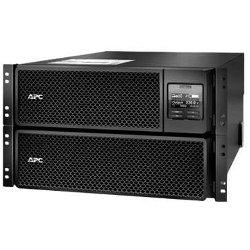UPS onduleur APC Smart-UPS SRT 10000VA RM - Onduleur (rack-montable) - CA 230 V - 10 kW - 10000 VA - Ethernet 10/100, USB - connecteurs de sortie : 14 - 6U - noir