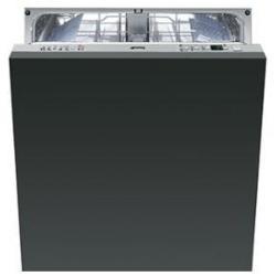 Lave-vaisselle Smeg ST324L - Lave-vaisselle - int�grable - Niche - largeur : 60 cm - profondeur : 57.5 cm - hauteur : 82 cm - argent�(e)