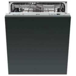 Lave-vaisselle encastrable Smeg ST332L - Lave-vaisselle - intégrable - Niche - largeur : 60 cm - profondeur : 57.5 cm - hauteur : 82 cm - argenté(e)