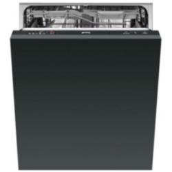 Lave-vaisselle encastrable Smeg ST531 - Lave-vaisselle - intégrable - Niche - largeur : 60 cm - profondeur : 57.5 cm - hauteur : 82 cm - noir