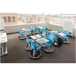 Mobile Scuola Kit - Steel.node blu