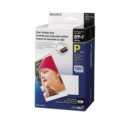 Papier Sony SVM-F120P - 3 - 101.6 x 152.4 mm cartouche imprimante/kit papier - pour Digital Photo Printer DPP-FP65, FP67, FP77, FP85, FP95, FP97; Picture Station DPP-FP67
