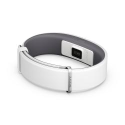 Smartwatch Sony SmartBand 2 SWR12 - Suivi d'activités - 256 Ko - NFC, Bluetooth - 25 g - blanc