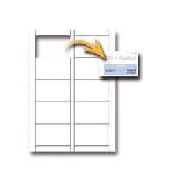 Cartes de visite DECAdry MicroLine OCB-3260 - Cartes de visite - micro-perforé - blanc - 54 x 85 mm - 250 g/m² - 180 carte(s) (18 feuille(s) x 10)