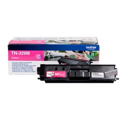 Brother TN329M - Magenta - originale - cartouche de toner - pour Brother DCP-L8450CDW, MFC-L8850CDW; HL-L8350CDW, L8350CDWT, L8850CDW