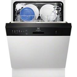 Lave-vaisselle Electrolux TP701N - Lave-vaisselle - intégrable - Niche - largeur : 60 cm - profondeur : 55 cm - hauteur : 82 cm - noir