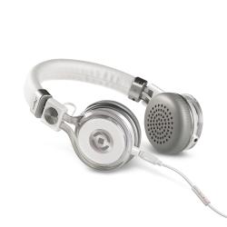 Celly Tribe - Casque avec micro - sur-oreille - 3.5 mm plug - blanc