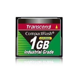 Carte mémoire Transcend CF200I Industrial Grade - Carte mémoire flash - 1 Go - CompactFlash