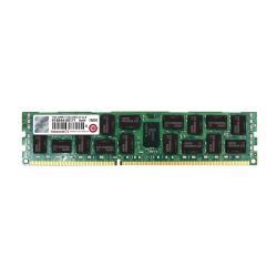 Barrette RAM Transcend - DDR3 - 16 Go - DIMM 240 broches - 1333 MHz / PC3-10600 - CL9 - 1.5 V - mémoire enregistré - ECC