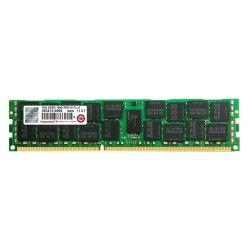 Barrette RAM Transcend - DDR3 - 16 Go - DIMM 240 broches - 1600 MHz / PC3-12800 - CL11 - 1.5 V - mémoire enregistré - ECC