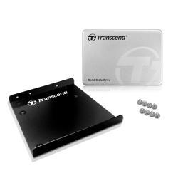 "SSD Transcend SSD370S - Disque SSD - 64 Go - interne - 2.5"" (dans un support de 3,5"") - SATA 6Gb/s"