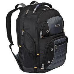 """Sacoche Targus Drifter 16"""" / 40.6cm Backpack - Sac à dos pour ordinateur portable - 16"""" - Noir/bleu"""