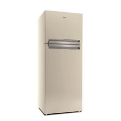 Réfrigérateur Whirlpool T TNF 8111 SB - Réfrigérateur/congélateur - pose libre - largeur : 70 cm - profondeur : 72.5 cm - hauteur : 180 cm - 427 litres - congélateur haut - classe A+ - avoine