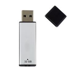 Clé USB Nilox 2.0 A - Clé USB - 32 Go - USB 2.0 - argenté(e)