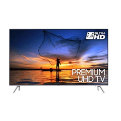 "TV LED Samsung UE49MU7000T - Classe 49"" - 7 Series TV LED - Smart TV - 4K UHD (2160p) - HDR - UHD dimming, Precision Black Local Dimming - argent inoxydable"