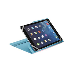 Cover UNITAB78TF per Tablet 7''-8'' Similpelle Azzurro