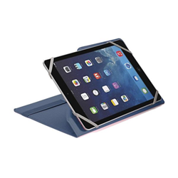 Cover UNITAB910BL per Tablet 9''-10'' Similpelle Blu