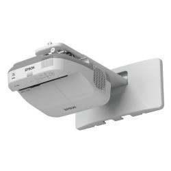 Vidéoprojecteur Epson EB-1430Wi - Projecteur LCD - 3300 lumens - WXGA (1280 x 800) - 16:10 - HD - Objectif fixe de portée ultra courte - LAN