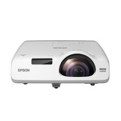 Vidéoprojecteur Epson EB-525W - Projecteur LCD - 2800 lumens - WXGA (1280 x 800) - 16:10 - HD 720p - LAN