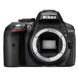 Appareil photo reflex Nikon D5300 - Appareil photo numérique - Reflex - 24.2 MP - APS-C - corps uniquement - Wi-Fi - noir