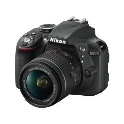 Appareil photo reflex Nikon D3300 - Appareil photo numérique - Reflex - 24.2 MP - APS-C - 1080p / 60 pi/s - 3.1x zoom optique - noir