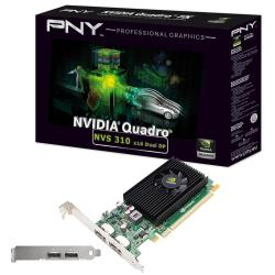 Scheda video PNY - Nvidia nvs 310 dp