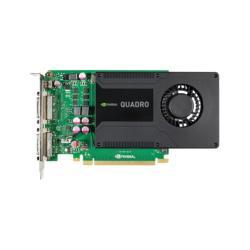 Carte vidéo NVIDIA Quadro K2000D - Carte graphique - Quadro K2000D - 2 Go GDDR5 - PCIe 2.0 x16 - 2 x DVI, Mini DisplayPort