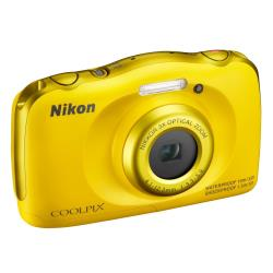 Foto Fotocamera Coolpix S33 Yellow Garanzia Europa Nikon