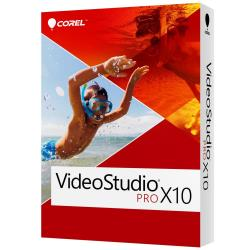 Logiciel Corel VideoStudio Pro X10 - Ensemble de boîtes - 1 utilisateur (mini-boîtier) - Win - Multi-Lingual - Europe