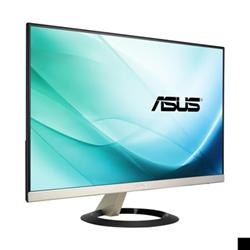 "Écran LED ASUS VZ249H - Écran LED - 23.8"" - 1920 x 1080 Full HD (1080p) - IPS - 250 cd/m² - 5 ms - HDMI, VGA - haut-parleurs - noir, or glaçon"
