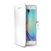 Custodia Celly - Wally Galaxy S6 Edge Bianco