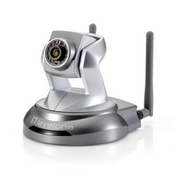 Telecamera per videosorveglianza Level One - 2mpx ip camera pan/tilt poe wifi ir