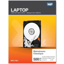 Hard disk interno WESTERN DIGITAL - MAINSTREAM LAPTOP 500GB