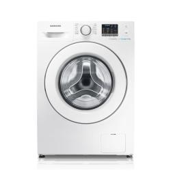 Lave-linge Samsung Ecolavaggio WF80F5E0W2W - Machine à laver - pose libre - largeur : 60 cm - profondeur : 55 cm - hauteur : 85 cm - chargement frontal - 8 kg - 1200 tours/min - blanc