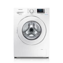 Lave-linge Samsung Ecolavaggio Crystal WF80F5E5U2W - Machine à laver - pose libre - largeur : 60 cm - profondeur : 55 cm - hauteur : 85 cm - chargemen