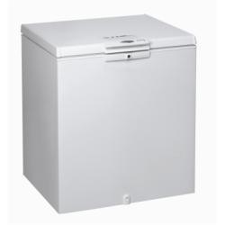 Congélateur Whirlpool WH2011A+E - Congélateur - pose libre - largeur : 80.6 cm - profondeur : 64.8 cm - hauteur : 86.5 cm - 204 litres - congélateur c