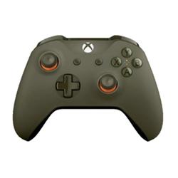 Contrôleurs Microsoft Xbox Wireless Controller - Gamepad - sans fil - Bluetooth - orange, vert militaire - pour PC, Microsoft Xbox One, Microsoft Xbox One S