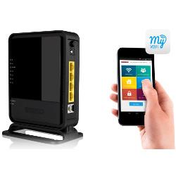 Routeur Sitecom WLM-2600 Wi-Fi Modem Router N300 - Routeur sans fil - modem ADSL - commutateur 4 ports - 802.11b/g/n