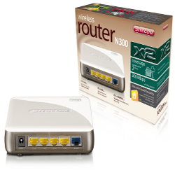 Router wireless Sitecom - Wireless router n300 x2