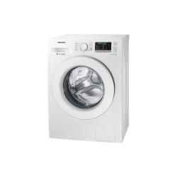 Lave-linge Samsung Ecobubble WW80J5455MW - Machine à laver - pose libre - largeur : 60 cm - profondeur : 55 cm - hauteur : 85 cm - chargement frontal