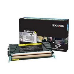Toner Lexmark - Cartuccia giallo x748 ar