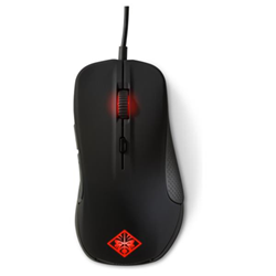 Souris HP OMEN Mouse with SteelSeries - Souris - laser - 6 boutons - filaire - USB - pour OMEN by HP; OMEN X by HP