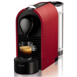 Expresso et cafetière Krups Nespresso Umat XN 2505 - Machine à café - 19 bar - rouge mat