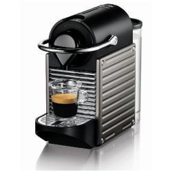 Expresso et cafetière Krups Nespresso XN3005 Pixie - Machine à café - 19 bar - titan électrique