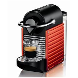 Expresso et cafetière Krups Nespresso Pixie XN 3006 - Machine à café - 19 bar - Rouge électrique