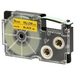 Nastro Casio - Nastro 9x8mt giallo scritt n