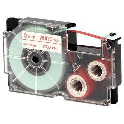 Nastro Casio - Nastro 9x8mt rosso scritt n