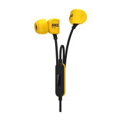 AKG Y20U - Écouteurs avec micro - intra-auriculaire - jaune